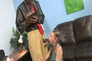 watchung my daughter getting drilled by dark jock