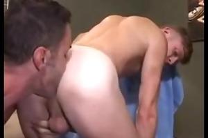 sexy hung dad guy engulfing & raw breeding,