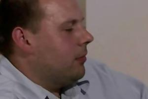 smart geezer tricks her into oral-sex and pecker