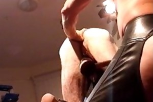 cbt busting my buds balls and fingering