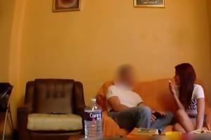 spanish gal fucking with a hidden webcam
