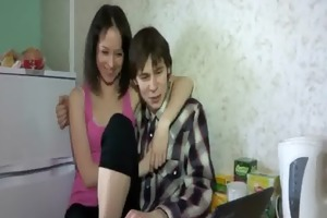 charming legal age teenager hotty stands doggy