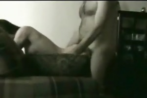 father and daughter (creampie) on daybed