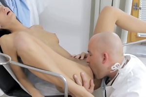 this doctor knows how to take care of his hot