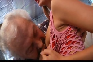 granddad favourable to fuck a sexy youthful