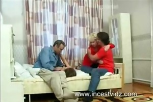 father and son copulates mother and daughter