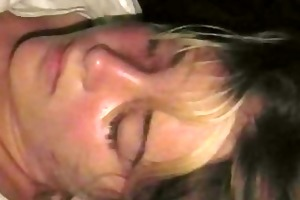 passed out sister facial surprise