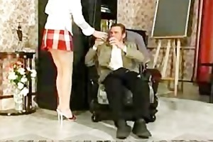 old russian teacher youthful legal age teenager