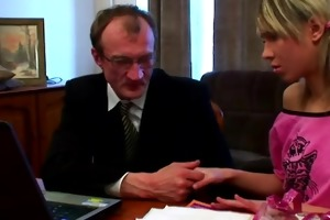 russian schoolgirl with merry niples enticed by