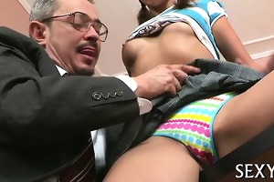 teacher is fucking young playgirl