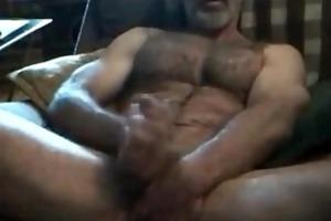 brawny hirsute lustful str8 daddy! sexy verbal