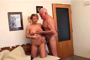 68yo grand-dad and his 19yo hotty