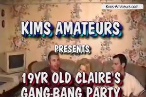 year old clairs bang