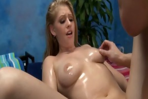 hot 18 year old honey acquires drilled hard
