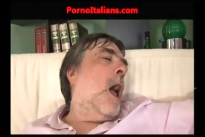 red angel screwed by his grandfather - incesto