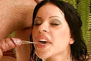 old man fucking and pissing on young gal