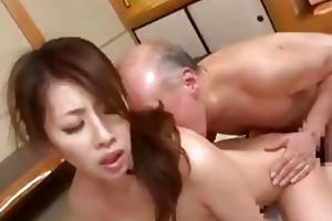 youthful japanese wife amp old guy