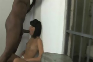 youthful daughter with good arse screwed by a