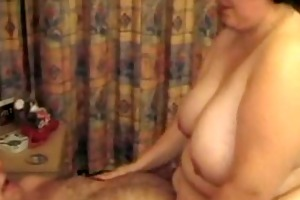 big beautiful woman rides oldman 2
