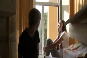 good group-sex with legal age teenager girl