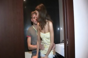 wild sex previous to her bf