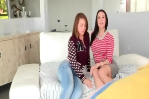 kendra longing and maddy oreilly three-some