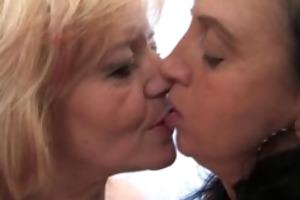 four concupiscent experienced ladies love part6