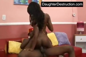 juvenile teen drilled hard