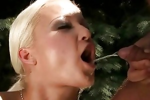 grandpapa fucking and pissing on hot blond