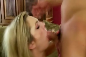 cockhungry doxy shows her mother how to take care