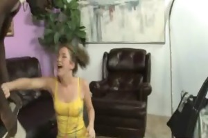 youthful hotty makes love with black stud 15