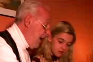 schnuckel bea copulates a grand-dad