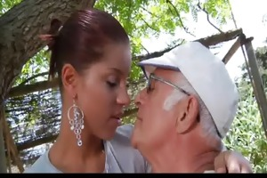 large schlong oldman bonks his much younger hot