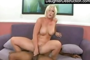 youthful angel drilled by giant jock