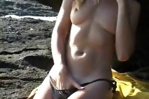 fur pie plays with sex toys