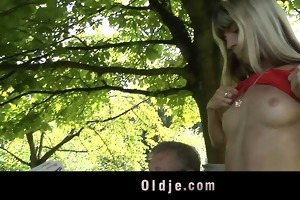 juvenile wicked blonde seduces and copulates